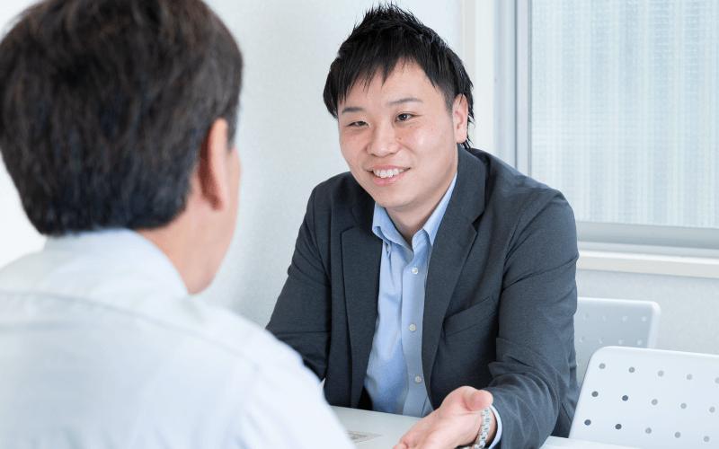 法人営業部インタビュー